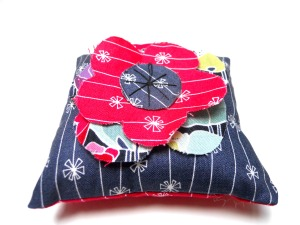 Red Poppy Pincushion